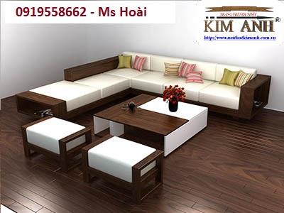 Sofa Gỗ Phong Khach 07 Cty Kim Anh Sai Gon
